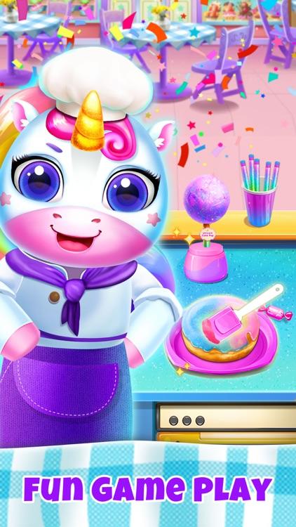 Unicorn Restaurant: Food Games screenshot-4