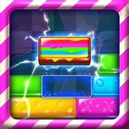 Candy Slide Puzzle: Block Drop