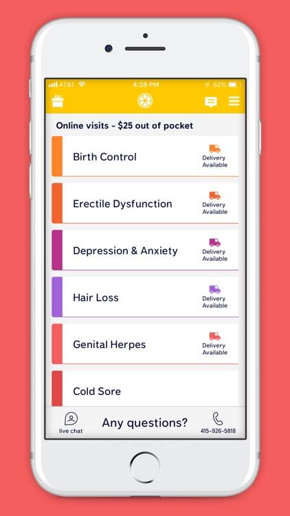 Lemonaid: same day online care screenshot-5