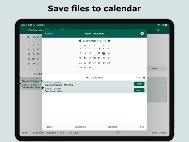 ‎FileCalendar Screenshot