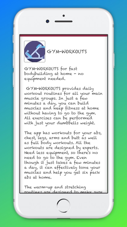 GYM- WORKOUTS screenshot-6