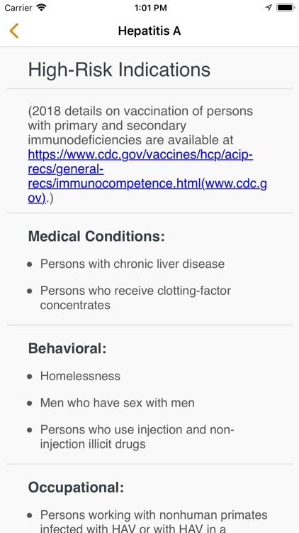 Shots Immunizations screenshot-3