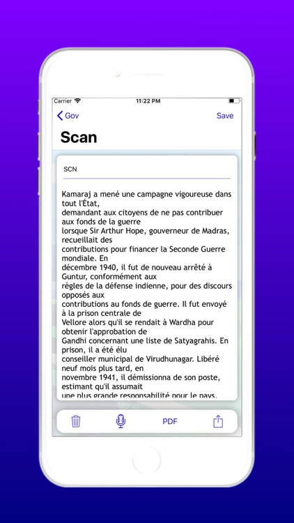 French Cam Scanner Pro screenshot-5