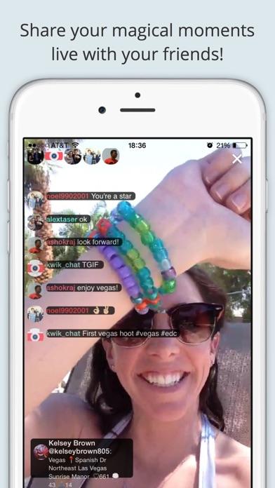 Hoot Live Stream Decentralized screenshot four