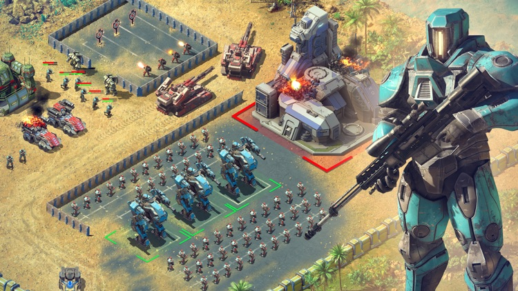 Battle for the Galaxy War Game screenshot-7