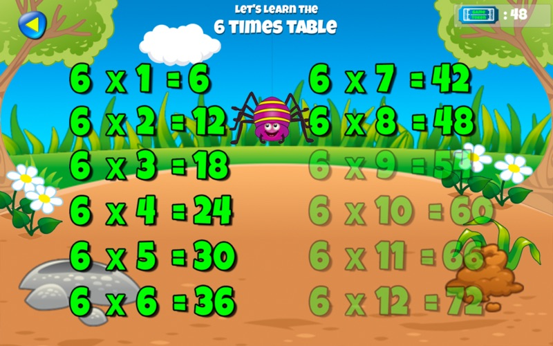 Mini World Maths Times Table for Mac