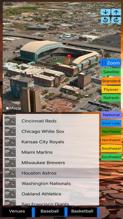 3D Sports Stadiums Lite screenshot 4