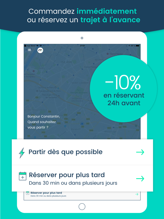 Screenshot #5 pour Marcel - Chauffeur VTC citoyen