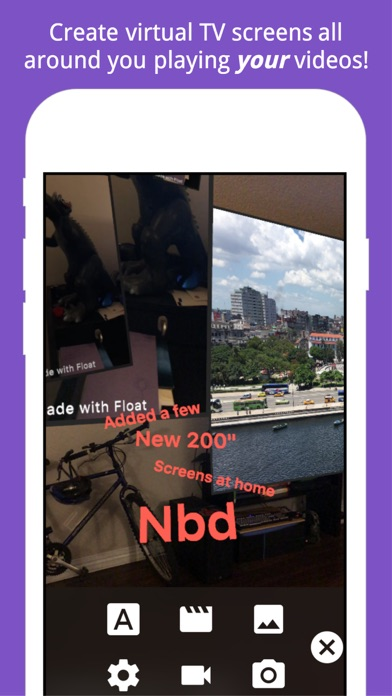 Float Camera – AR Video & Text screenshot two