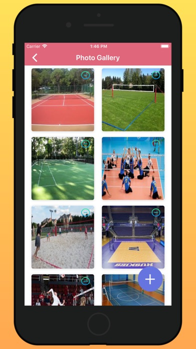 Volleyball Ground Manager app image