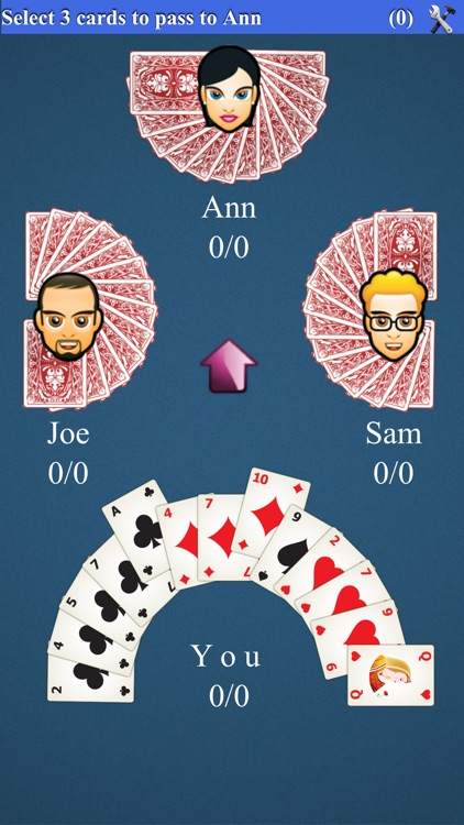 Hearts Card Game*