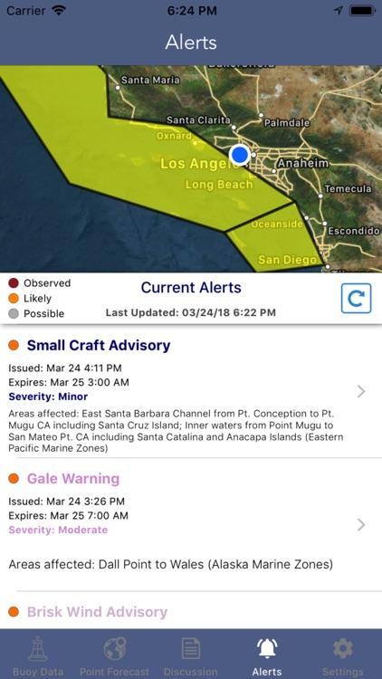 Marine Weather Forecast Pro screenshot-6