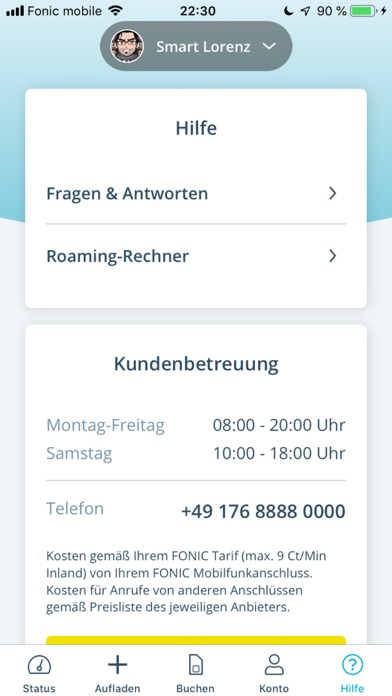 FONIC mobileScreenshot von 6