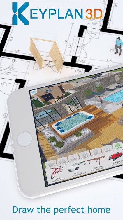 Keyplan 3D Lite - Home design screenshot-0