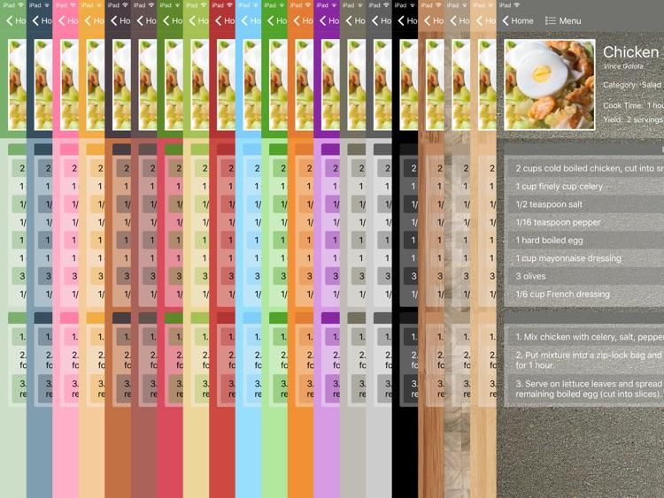 Personal Cookbook II Premium screenshot-3