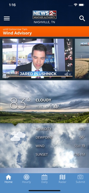 WKRN Weather Authority on the App Store