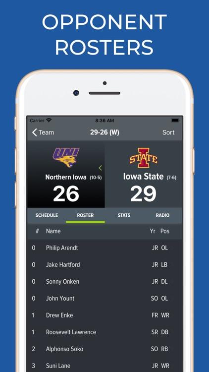 Iowa State Football Schedules screenshot-8