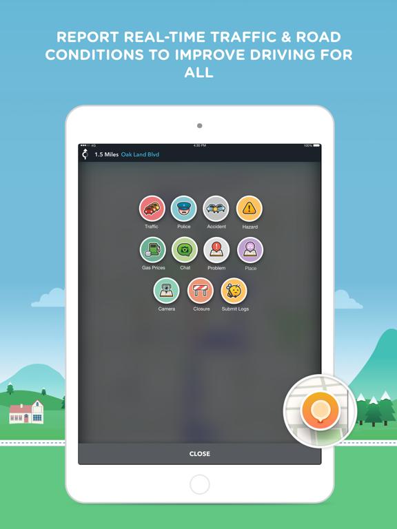 Waze Navigation & Live Traffic-ipad-1