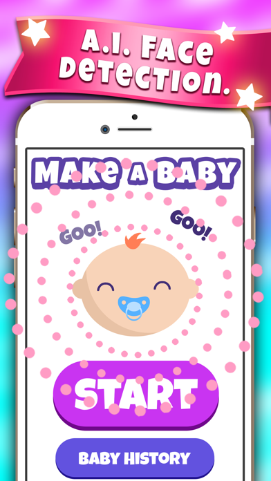 Make A Baby Future Face Maker Screenshot
