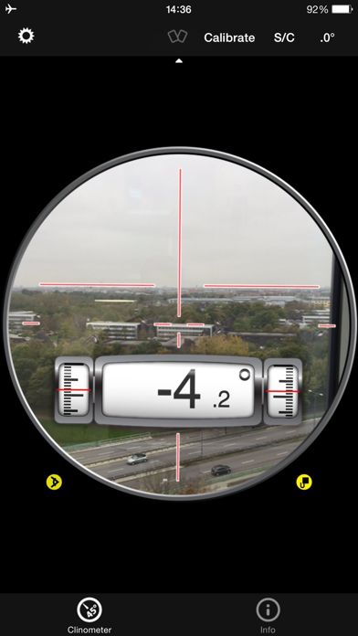 Clinometer + bubble level screenshot three