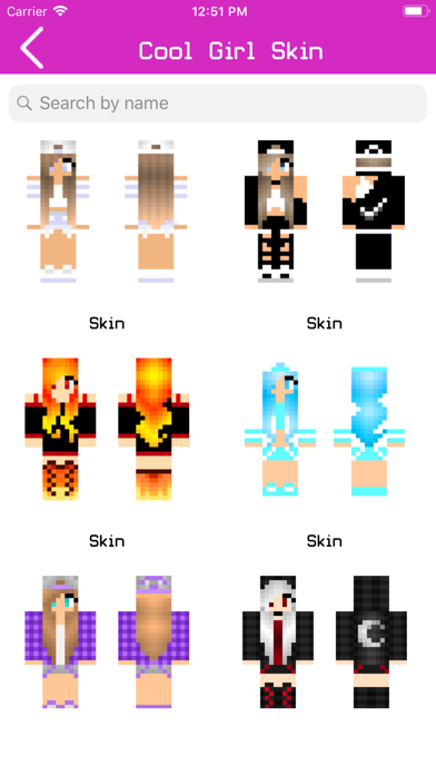 Girl Skins for Minecraft 2019 screenshot four