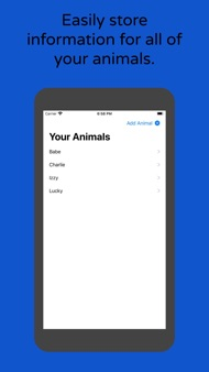 ARK - Animal Record Keeper iphone images