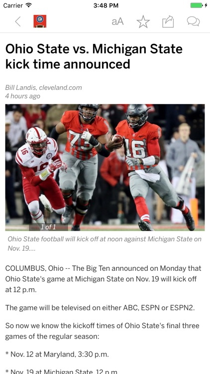 Buckeyes Football News
