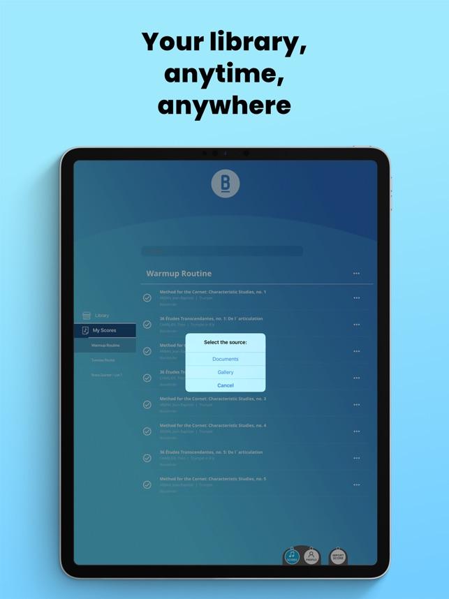 Blackbinder - Sheet Reader on the App Store