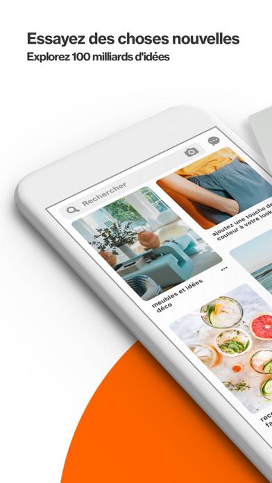 Screenshot #1 pour Pinterest: Idées & Inspiration