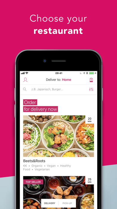 Screenshot for foodora - Local Food Delivery in Germany App Store