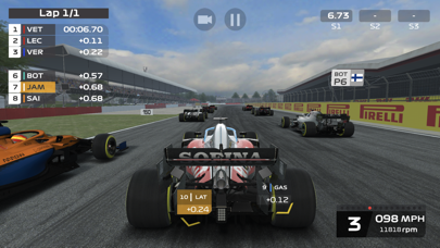 Screenshot from F1 Mobile Racing