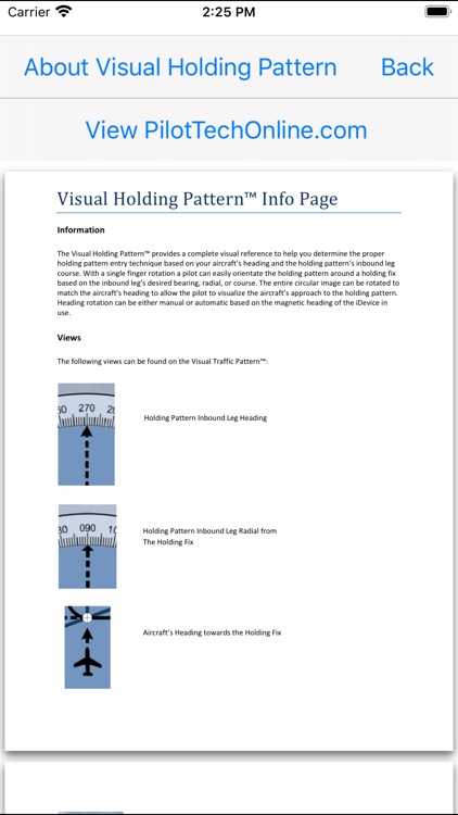 Visual Holding Pattern screenshot-4