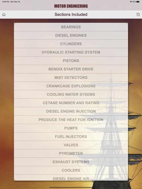 Motor Engineering USCG screenshot 18