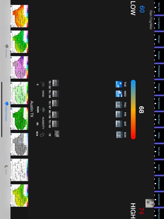 Instant NOAA Weather Forecast screenshot 10