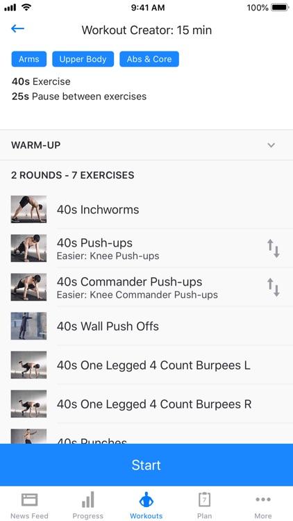Runtastic Results Bodyweight screenshot-5