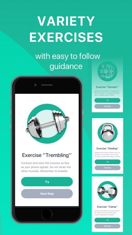 Dr. Kegel: Men's Health App screenshot-4
