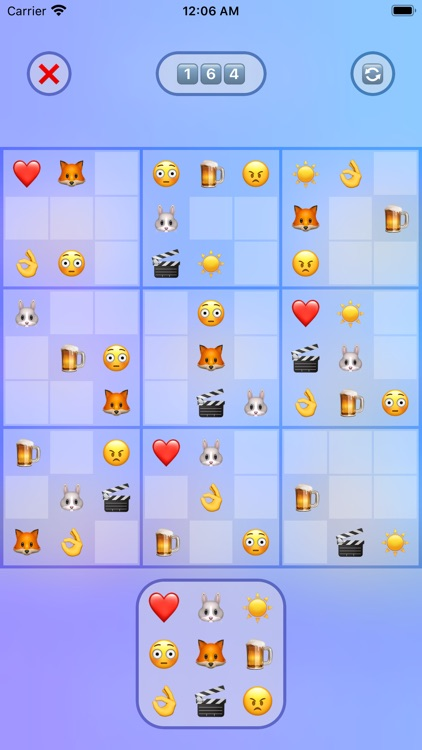 Jan's Emoji Sudoku screenshot-1