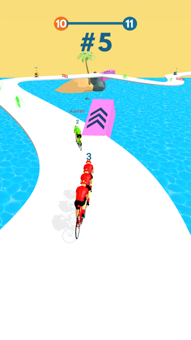 Cycling Stack Race screenshot 3