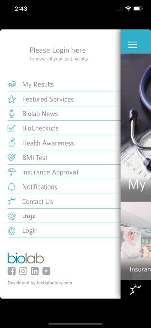 Biolab on the App Store