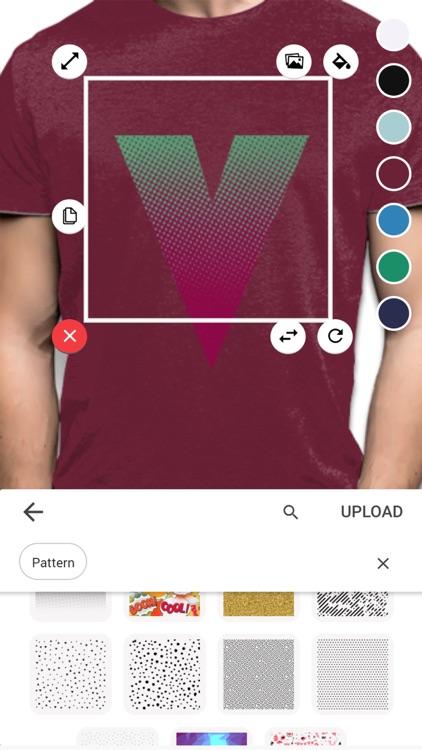 T-shirt design - Yayprint screenshot-3
