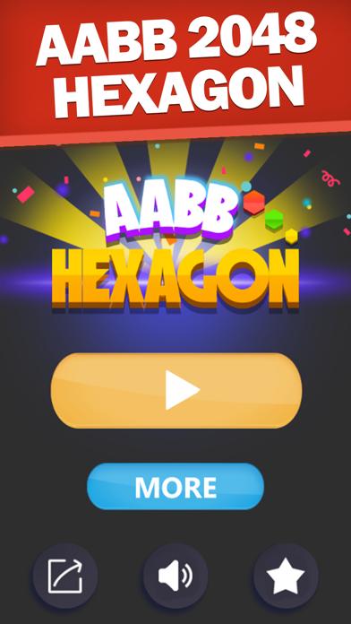 AABB 2048 Hexagon screenshot 1