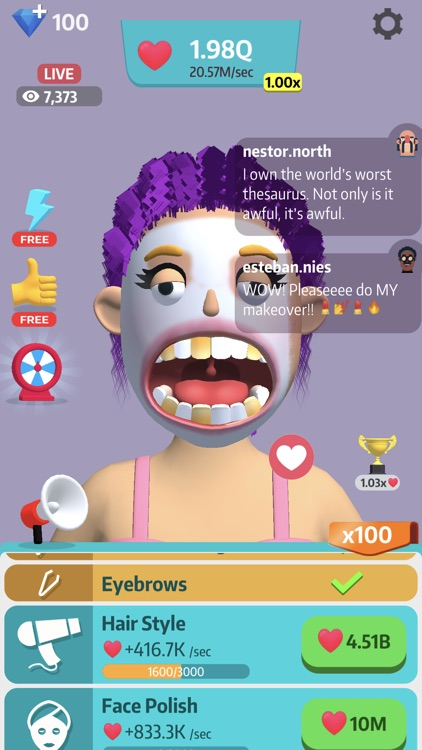 Idle Makeover