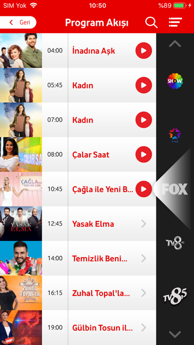 İndir Vodafone TV Pc için
