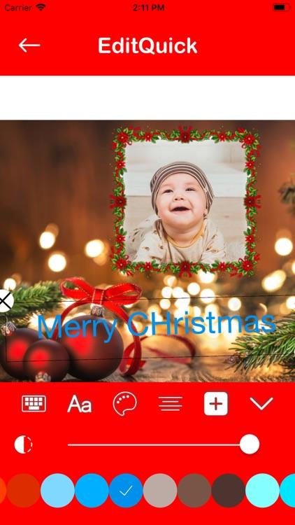 Christmas Photo Editor Collage screenshot-4