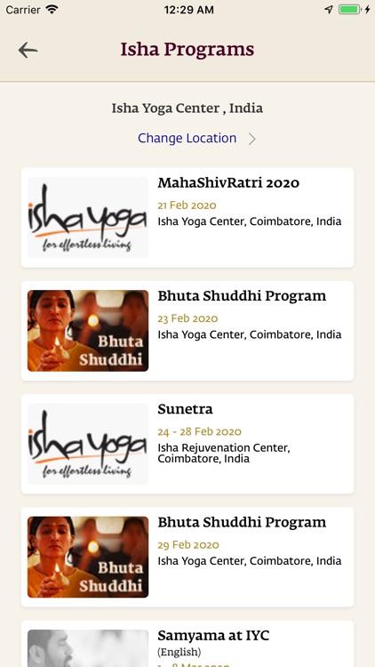 Sadhguru- Yoga & Meditation screenshot-7