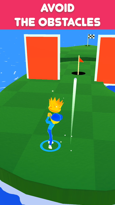 Golf Race screenshot 3