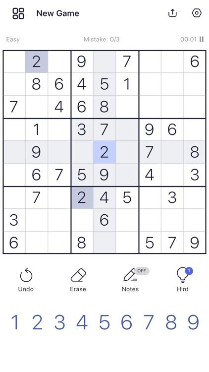 Sudoku: Sudoku Puzzle Games screenshot-5