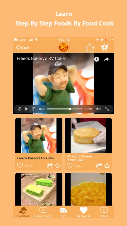 Cooking Food Recipes at Home screenshot-5