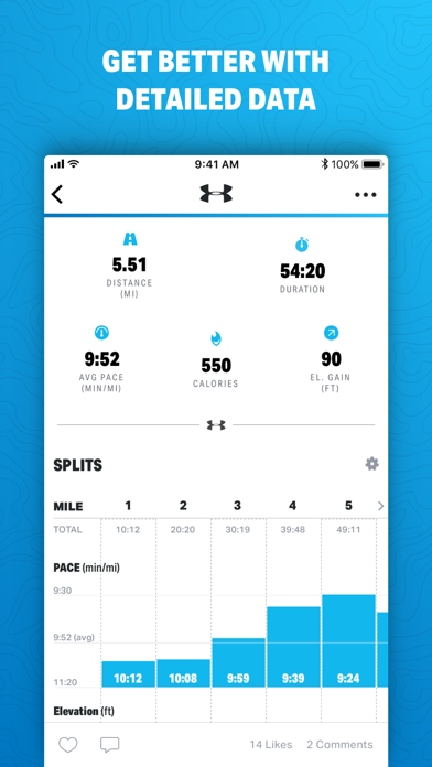 Map My Run by Under Armour screenshot two