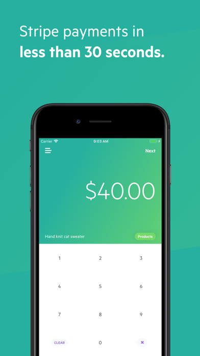 Screenshot #1 pour Payment for Stripe